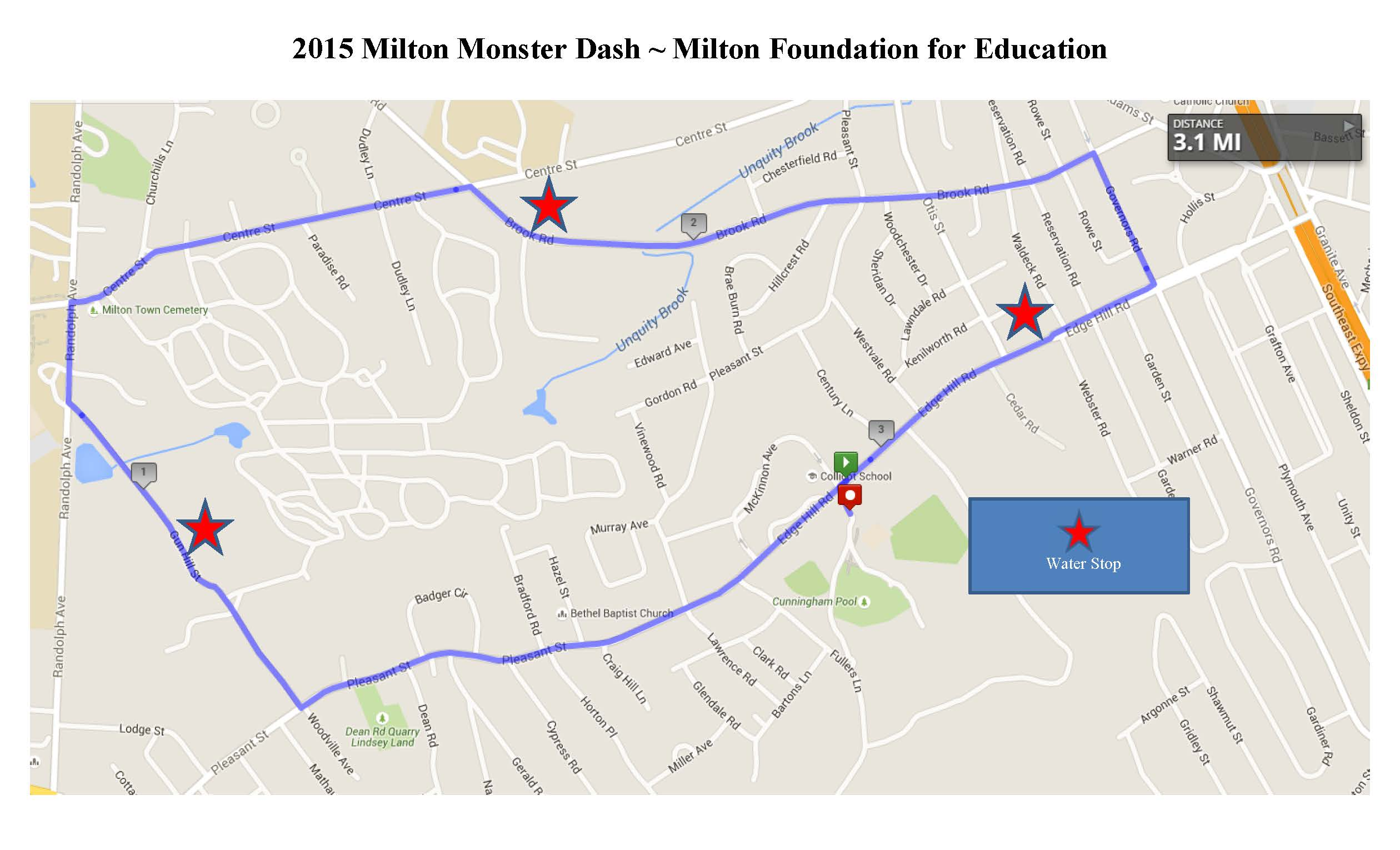 racewire 19th annual milton foundation for education u0027s monster dash